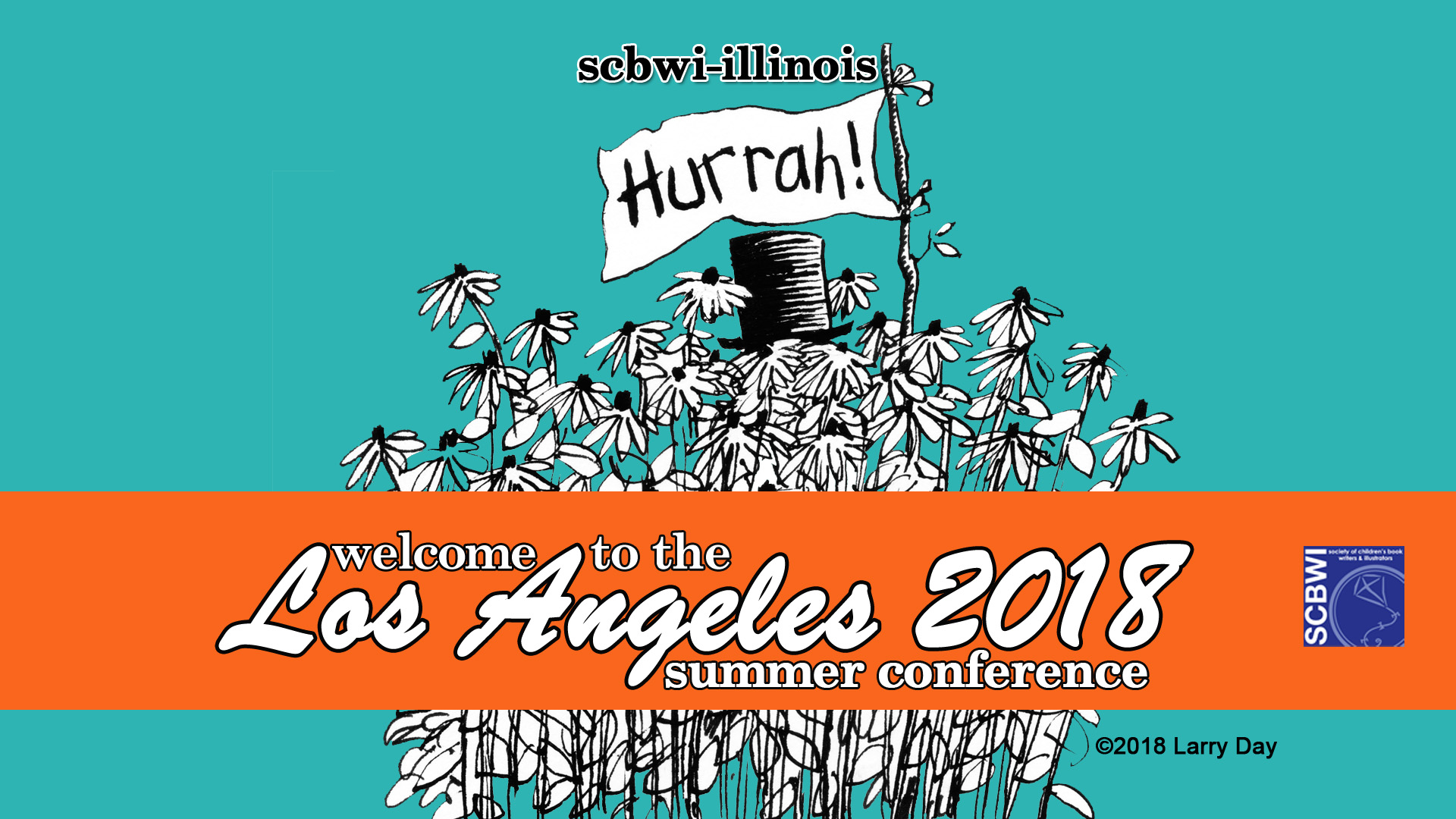 Going to the SCBWI LA 2018 Summer Conference? Check out ourFacebook Eventpage AND CONNECT before and during the conference! Go tohttps://www.scbwi.org/check-out-the-la18-summer-conference-schedule/