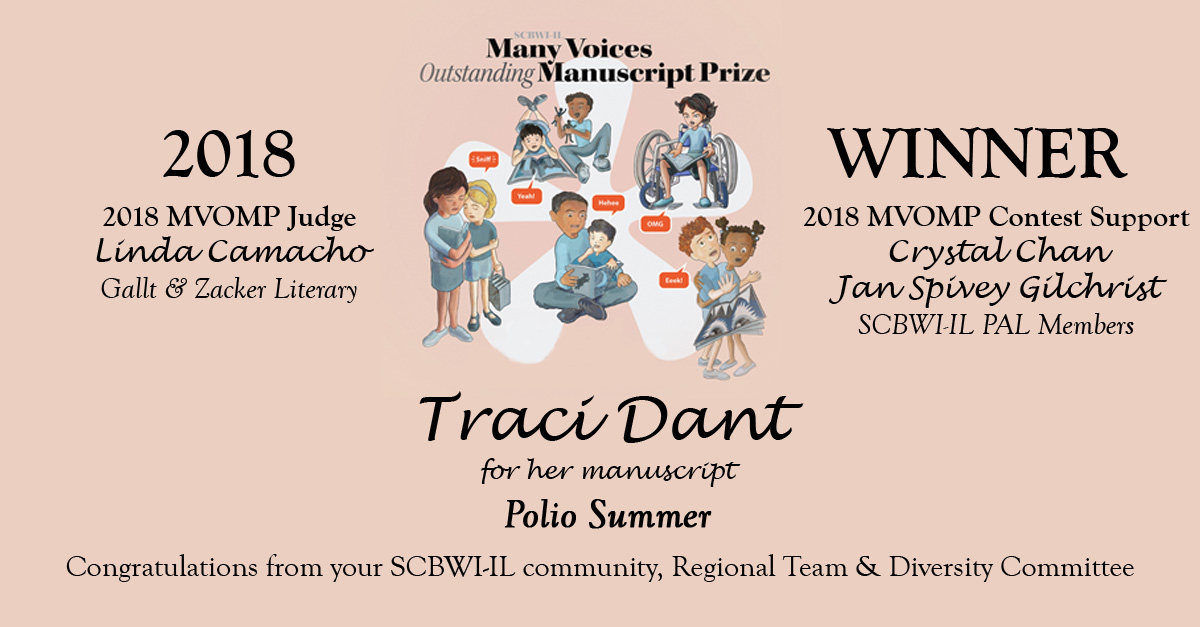 Congratulations Traci Dant, winner of the 2018 Many Voices Outstanding Manuscript Prize!