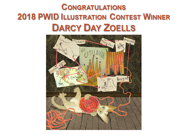 Congratulations to Darcy Day Zoells, winner of the 2018 PWID Illustration contest!