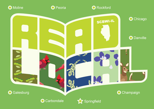 Hello! Welcome to the READ LOCAL newsletter—the place where you can read about events, ideas, and updates across our great state of Illinois. I'm Sarah Aronson, SCBWI-IL PAL and Published Coordinator. I'm a member of SCBWI Illinois, a writer of books for readers of all ages. I also work with lots of writers on the craft of writing. And lately, I've been working to help connect Illinois writers, illustrators, teachers, librarians, and most of all, READERS. I couldn't be more excited! Let's start this newsletter with some gratitude! I will try to weave my thank yous into a story—so you can see how much MAGIC happens when people put their heads together in the name of BOOKS and READING.  Read Local would never have happened had Erica Weisz not taken the initiative to find out more about Read Local programs on the East Coast. To Erica, this idea seemed like the perfect fit for our region.  Let me tell you—the minute I heard about this idea, I was ready! I am a person who eats locally. I shop locally. Reading Locally made perfect sense.  It also seemed like a lot of work. But we ignored that part.  Instead, we took the idea to Debbie Topolski.  If you are involved in SCBWI Illinois, you know Debbie. She is the leader that makes everything happen. She asks the right questions. She finds enthusiastic people. Every creative mind and organization needs a friend like Debbie! She helped us set goals. She brought more amazing people to the brainstorming.  We were also most fortunate to receive financial support from the wonderful board at I-Care, the Illinois Council for Active Reading Education. Right away, the enthusiastic and dedicated women believed in the mission of Read Local—to connect Illinois teachers and librarians with Illinois authors and illustrators.  With funding, we could now overcome both obstacles to people finding Illinois books: awareness and budget. Now we could fund visits to schools!  We were also fortunate to receive a second PAL grant from SCBWI to help
