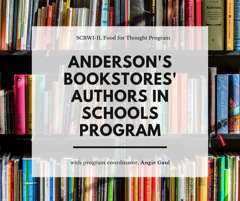 SCBWI-IL PAL and Published Members, please join us for a Food for Thought presentation with the fabulous Angie Gaul, Anderson's Bookstore's