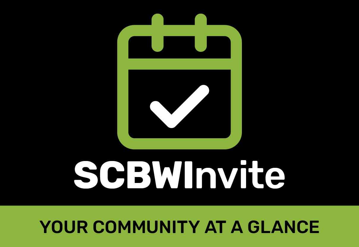 Put your next event on SCBWInvite! SCBWInvite will allow you to list any book-related event or appearance as long as it is free of charge, related to children's literature, and held in a public place.  Once a listing has been approved by SCBWI staff, it will be uploaded to the SCBWInvite page for everyone to browse and enjoy. Log into your Member Profile now to create your listing.  Just click SCBWInvite on the left-hand column and follow the prompts to fill in the information; SCBWI will take it from there.  For those of you looking for events to attend, you'll find SCBWInvite under the Events tab on the SCBWI website's main menu.   Check out SCBWInvite now! Traveling this summer?  Look up SCBWInvite events at your destination!