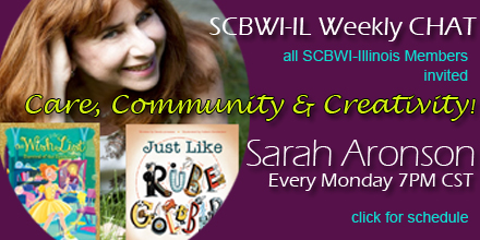 Join PAL & Published Coordinator Sarah Aronson for her 3-Cs: Care, Community and Creativity!   All SCBWI-Illinois Members Invited Every Monday night 7PM CST Online using Zoom--to join: https://zoom.us/j/912578951 If you're new to ZOOM, see TUTORIALS, at bottom.     UPCOMING SCHEDULE All events will start with ONE writing prompt (5 min writing time) and end with check in. Sarah will create a Padlet for book suggestions.   March 23:  Productivity. FIND YOUR VOICE—the fast way with PAL Kate Hannigan 2016 SCBWI GOLDEN KITE AWARD WINNER MIDDLE GRADE for The Detective's Assistant (; Little Brown, 2015)   March 30: Craft Book Discussion   April 6: BRING A QUOTE and/or a short reading to share   April 13.Doing research for NF at home with PAL Barb Rosenstock, 2019 SCBWI GOLDEN KITE AWARD WINNER YOUNG READERS NON-FICTION for Otis and Will Discover the Deep: The Record-Setting Dive of the Bathysphere (Illustrated by Katerine Roy; Little Brown, 2018)   April 20: Illustrator Demo   April 27: Craft Book Discussion, 2       ZOOM TUTORIALS New to ZOOM?  Please review the following online tutorials: If you have never used Zoom, please watch these two videos to help you Zoom up to speed!   How to Download and Run Zoom: https://www.youtube.com/embed/vFhAEoCF7jg?rel=0&autoplay=1&cc_load_policy=1   How to set up your audio and video on Zoom. https://support.zoom.us/hc/en-us/articles/201362283-Testing-computer-or-device-audio