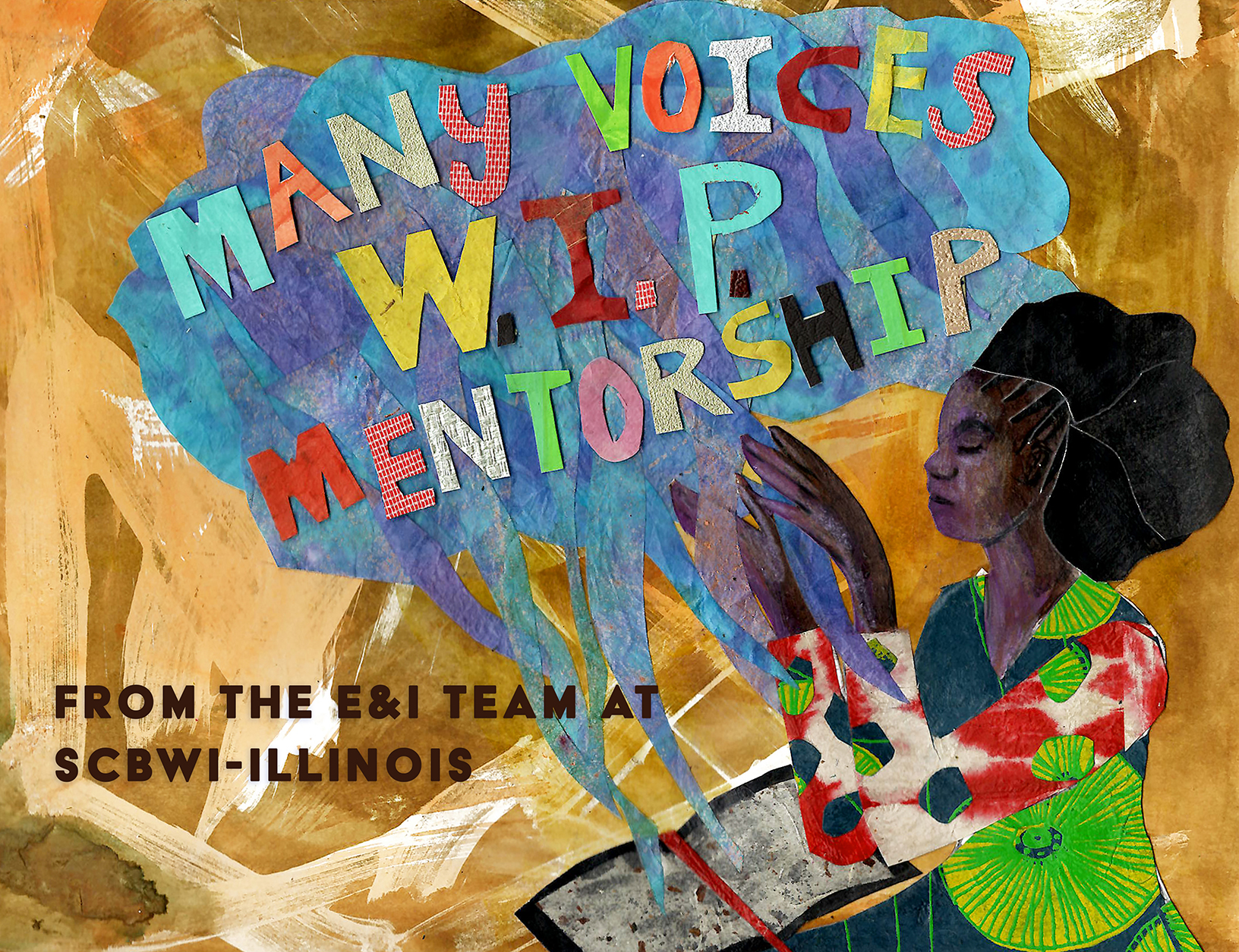 Apply for the SCBWI-IL Many Voices WIP Mentorship with Jan Spivey Glichrist April 1-11, 2021