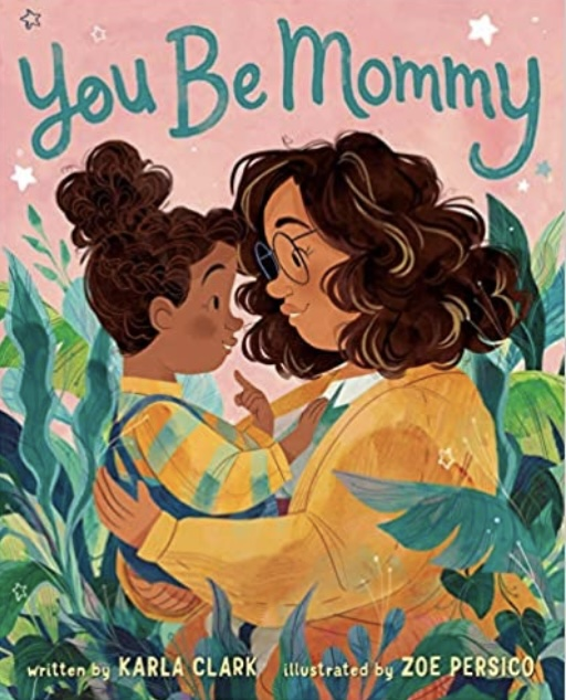 You Be Mommy picture book cover