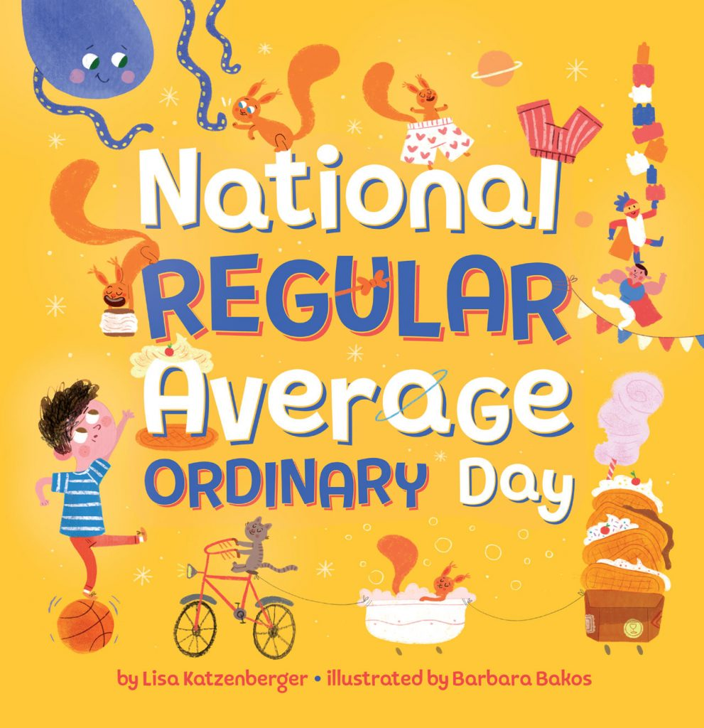 National Regular Average Ordinary Day book cover