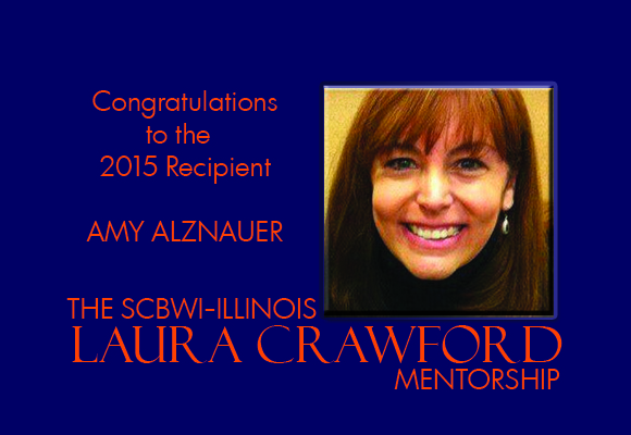 The SCBWI-IL Laura Crawford Mentorship recipient for 2015 is Amy Alznauer.