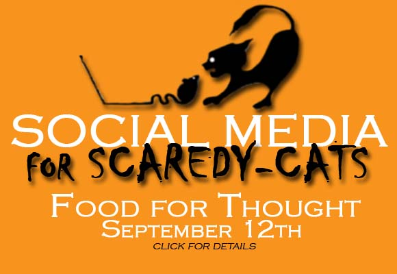 SCBWI-IL Food for Thought Social Media for Scared-cats September 12, 2015