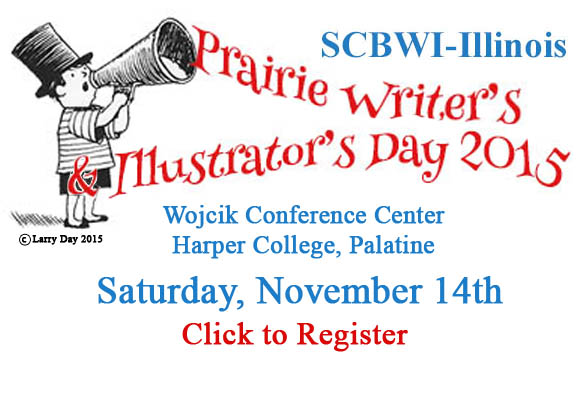Registration for Prairie Writer's and Illustrator's Day, 2015 will begin on September 1st st noon.  The day-long event takes place on November 14, 2015.