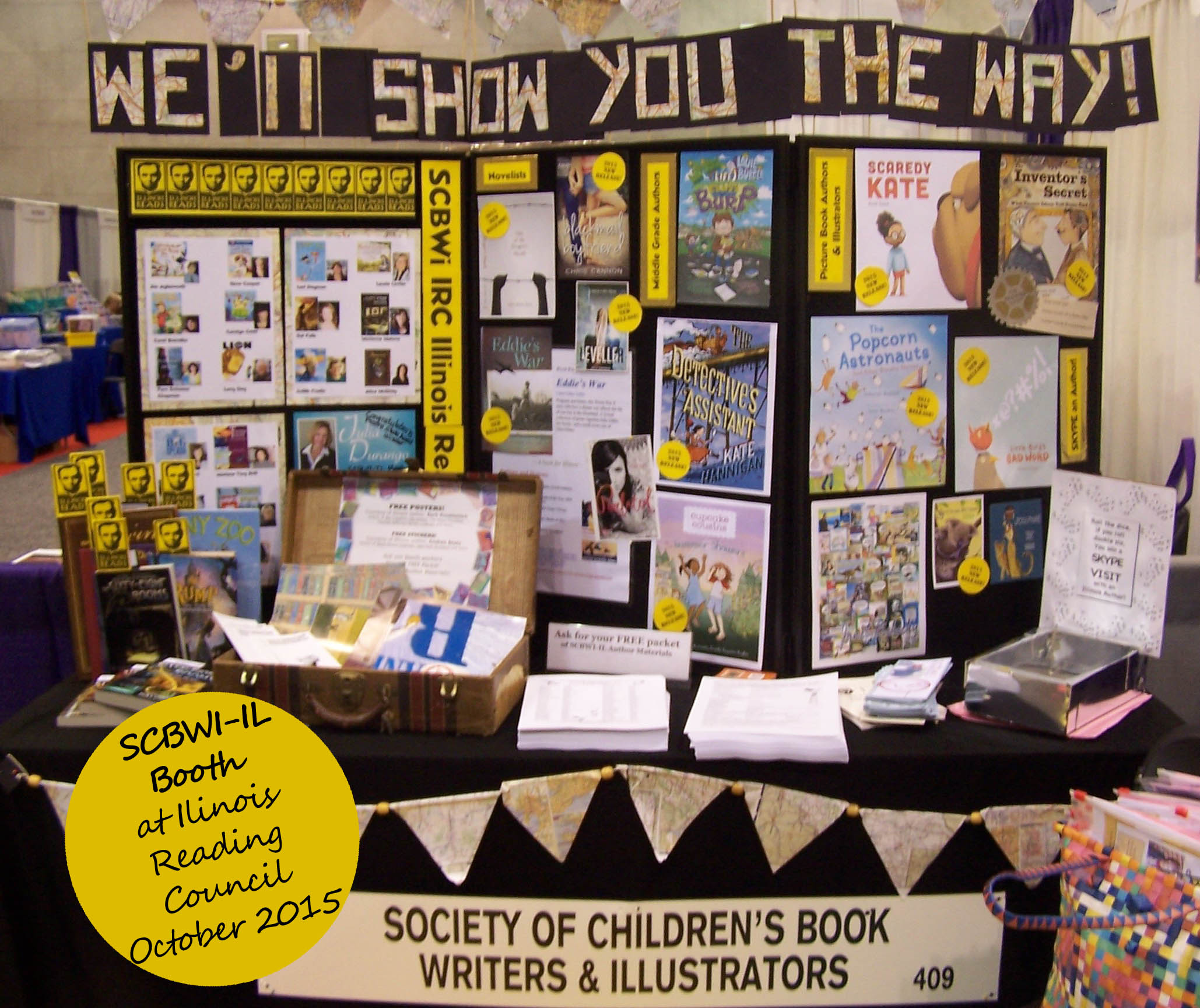Thanks to all of the members and volunteers who contributed to making our latest SCBWI-IL booth at IRC a success!