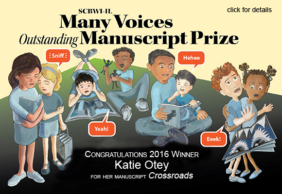 Congratulations to member Katie Otey, winner of the 2016 SCBWI-IL Many Voices Outstanding Manuscript Prize.  For more information: http://illinois.scbwi.org/scholarships/many-voices-outstanding-manuscript-prize/