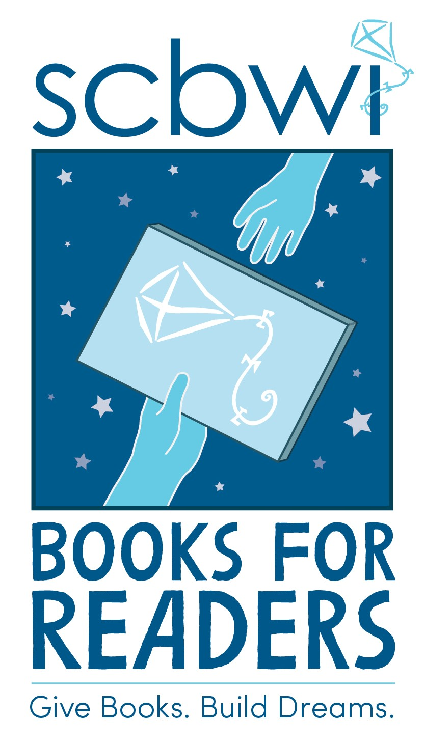 Learn more about SCBWI's Books for Readers here:http://www.scbwi.org/booksforreaders/.  Thanks to our own Patricia J. Murphy for helping to spearhead this important effort!